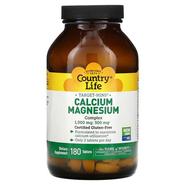 Target-Mins Calcium-Magnesium Complex, 180 Tablets