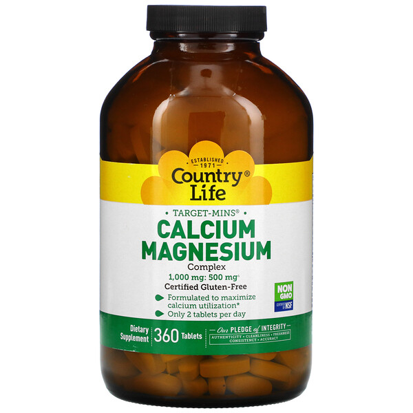 Target-Mins Calcium-Magnesium Complex, 360 Tablets