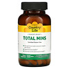 Country Life, Target-Mins, Total Mins, Complejo Multi-Mineral con Boron, 120 Tabletas