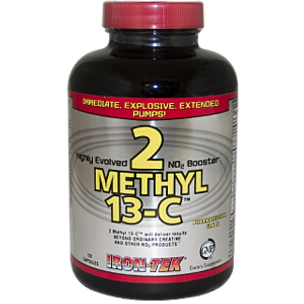 Country Life, Iron-Tek, 2 Methyl 13-C, Nitric Oxide Booster
