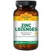Country Life, Zinc Lozenges, With Vitamin C, Lemon Flavor, 120 Lozenges