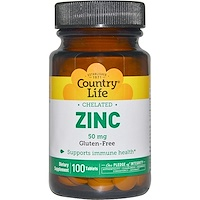 Цинк, хелатный, 50 мг, 100 таблеток - фото