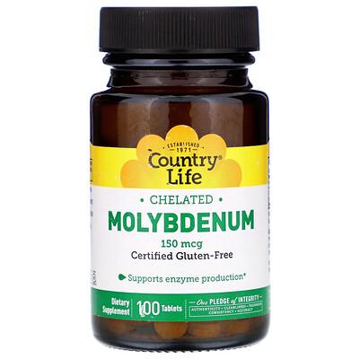 Хелатный молибден, 150 мкг, 100 таблеток цена 2017