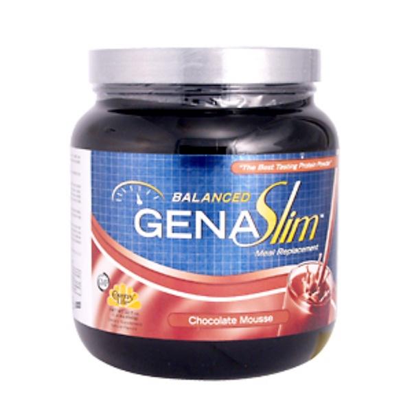 Country Life, GenaSlim  Balanced, Chocolate Mousse, 22.5 oz (640 g) (Discontinued Item)