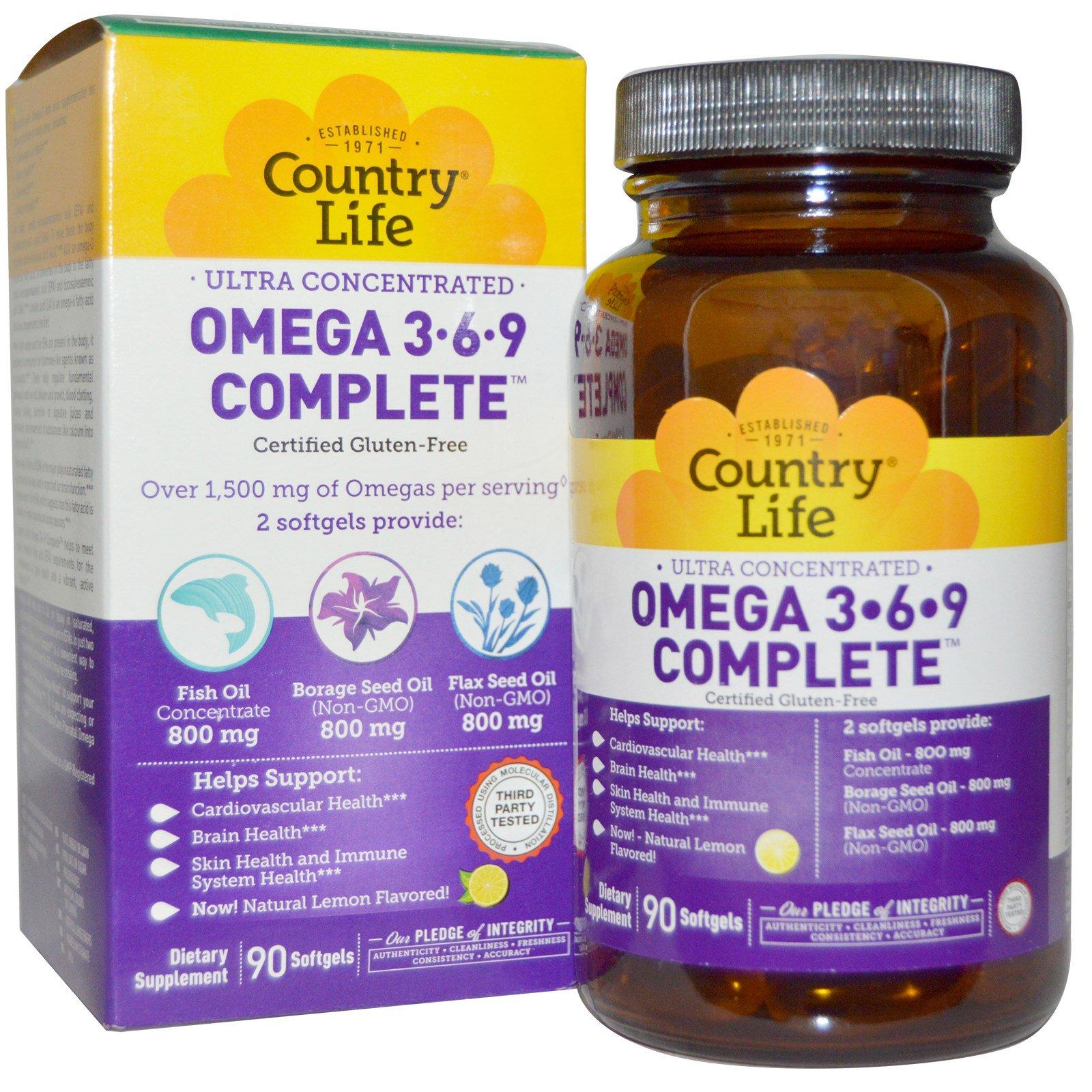 Для чего нужны витамины Омега-3-6-9 и в чем их польза