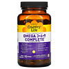 Country Life, Ultra Concentrated Omega 3-6-9 Complete, Natural Lemon, 90 Softgels