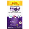 Country Life, Omega 3-6-9 Complete, Ultra Concentrated, Natural Lemon, 180 Softgels