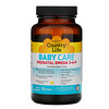 Country Life, Baby Care, Prenatal Omega 3-6-9, Natural Lemon, 90 Softgels