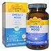 Omega 3 Mood, с натуральным вкусом лимона, 90 желатиновых капсул - изображение