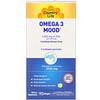 Country Life, Omega 3 Mood, натуральный ароматизатор со вкусом лимона, 90 мягких желатиновых капсул