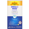 Country Life, Omega 3 Mood, с натуральным вкусом лимона, 180 мягких желатиновых капсул