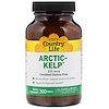 Country Life, Arctic-Kelp, 225 mcg, 300 Tablets