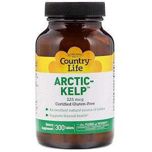 Кантри Лайф, Arctic-Kelp, 225 mcg, 300 Tablets отзывы покупателей
