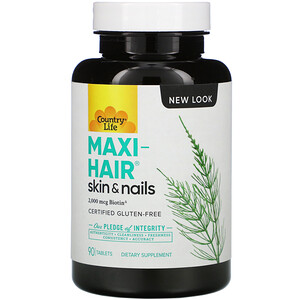 Кантри Лайф, Maxi-Hair, Skin & Nails, 90 Tablets отзывы покупателей