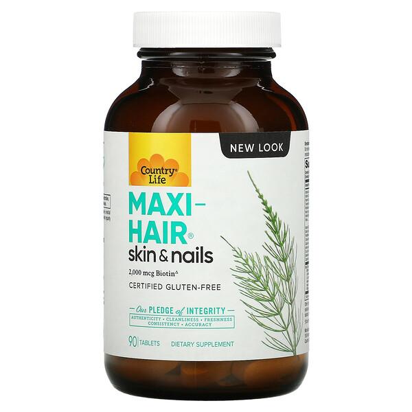 Maxi-Hair, 90 Tablets