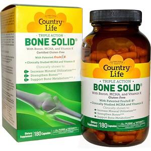 Кантри Лайф, Triple Action Bone Solid, 180 Capsules отзывы