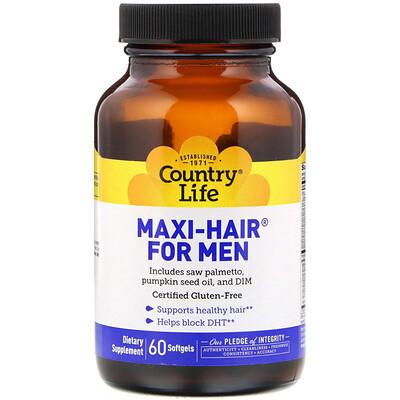 Maxi-Hair for Men, 60 Softgels