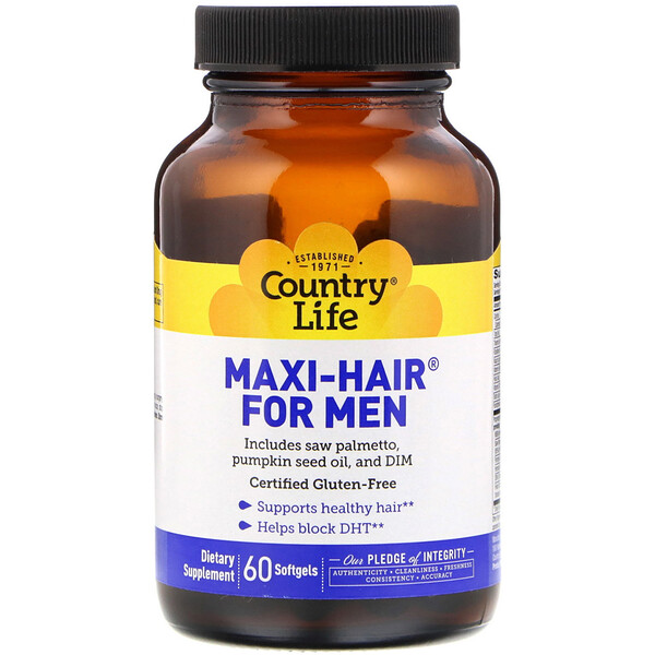 Maxi-Hair for Men, 60 Softgels