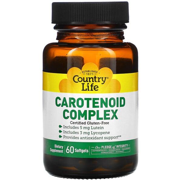 Complexe de caroténoïdes, 60 Gélules souples