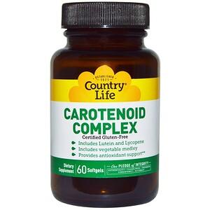 Кантри Лайф, Carotenoid Complex, 60 Softgels отзывы