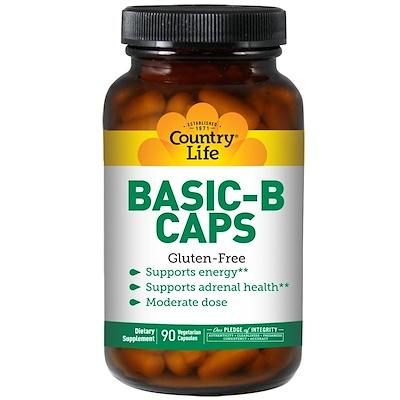 Basic-B в капсулах, 90 вегетарианских капсул метил b комплекс 50 60 вегетарианских капсул