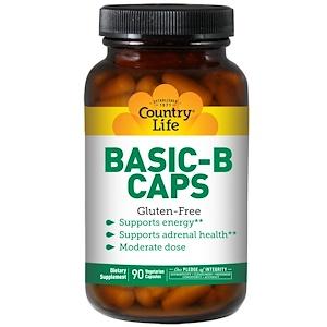 Кантри Лайф, Basic-B Caps, 90 Vegetarian Capsules отзывы покупателей