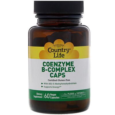 Coenzyme B-Complex Caps, 60 растительных капсул недорого