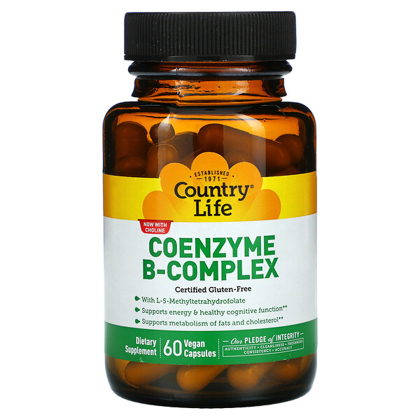 Coenzyme B-Complex , 60 Vegan Capsules