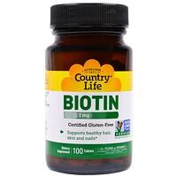 Биотин, 1 мг, 100 таблеток - фото