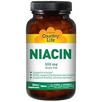 Ниацин, 500 мг, 90 таблеток - фото