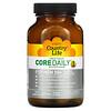 Country Life, Core Daily-1, мультивитамины для мужчин старше 50лет, 60таблеток