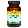 Country Life, Green Tea Extract, 90 Tablets
