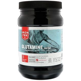 Country Life, Iron-Tek, Glutamine Pure, 17.6 oz (500 g)