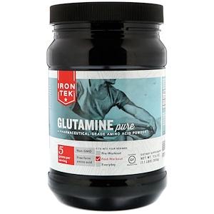 Кантри Лайф, IRON-TEK, Glutamine Pure, 17.6 oz (500 g) отзывы покупателей