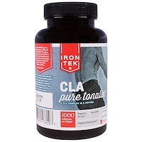 Iron-Tek, комплекс чистого тоналина и КЛК (конъюгированной линолевой кислоты), 1000 мг, 90 мягких капсул - фото