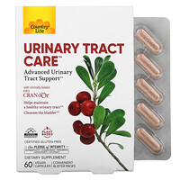 Country Life, Urinary Tract Care, 60 Vegan Capsules