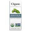 Cliganic, 100% Pure Essential Oil, Eucalyptus, 2/6 fl oz (10 ml)