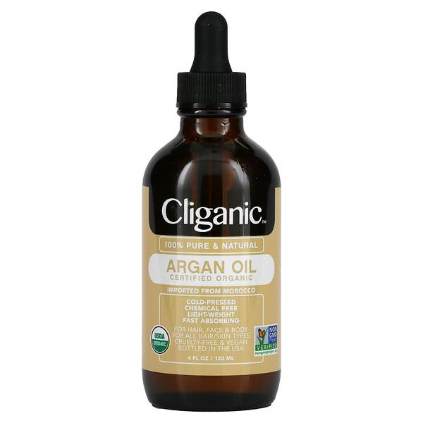 Aceite de argán 100% puro y natural, 120ml (4oz.líq.)