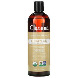 Cliganic, Organic Argan Oil, 16 fl oz (473 ml)