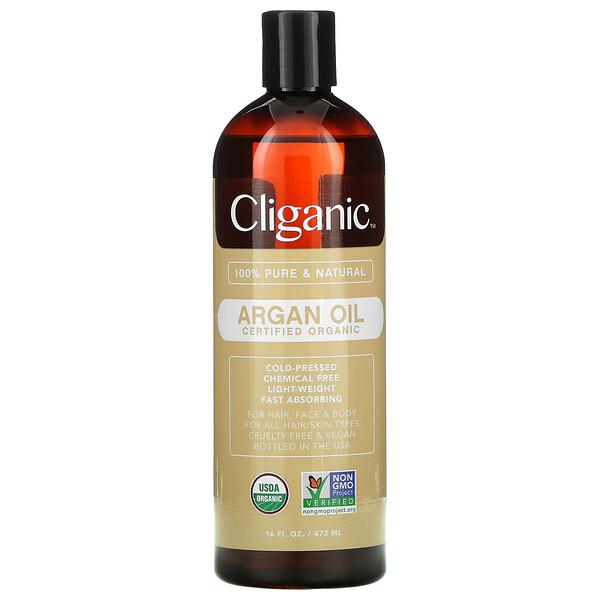 Organic Argan Oil, 16 fl oz (473 ml)