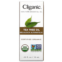 Cliganic, 100% Pure Essential Oil, Tea Tree, 0.33 fl oz (10 ml)