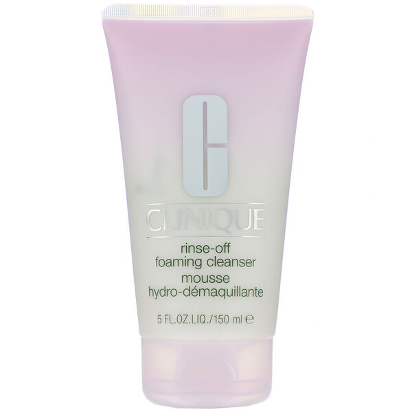 Clinique, Rinse-Off, Foaming Cleanser, 5 fl oz (150 ml) (Discontinued Item)