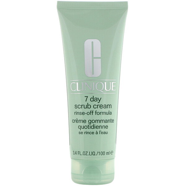 Clinique, 7 Day Scrub Cream, 3.4 fl oz (100 ml) (Discontinued Item)