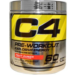 Cellucor, C4, Pre-Workout, Explosive Energy, Fruit Punch, 13.75 oz (390 g)
