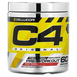 Cellucor, C4 Original Explosive, Pre-Workout, Fruit Punch, 13.8 oz (390 g)