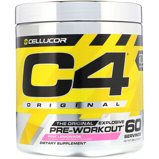 Cellucor, C4 Original Explosive, Pre-Workout, Pink Lemonade, 13.8 oz (390 g)
