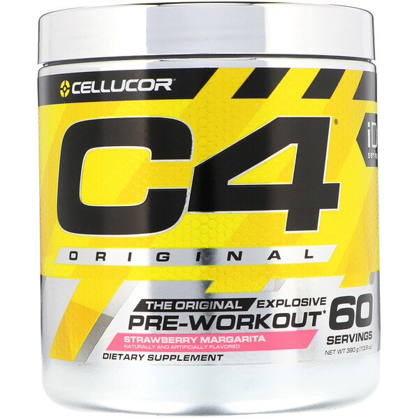 C4 Original Explosive, Pre-Workout, Strawberry Margarita, 13.8 oz (390 g)