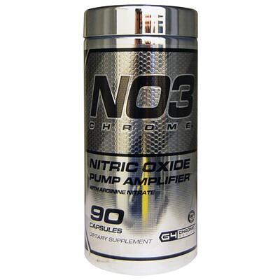 Купить NO3 Chrome, усилитель тренировок с оксидом азота, 90 капсул