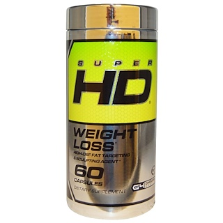 Cellucor, Super HD, Weight Loss, 60 Capsules