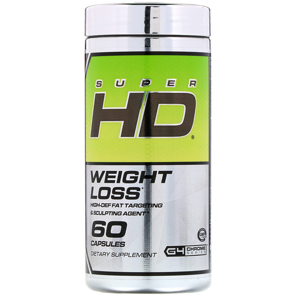 Cellucor, Super HD, Weight Loss, 60 Capsules (Discontinued Item)